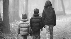 common ethic children walking