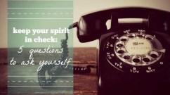spirit check