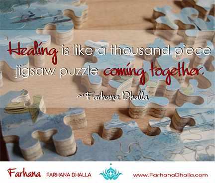 farhana dhalla healing puzzle