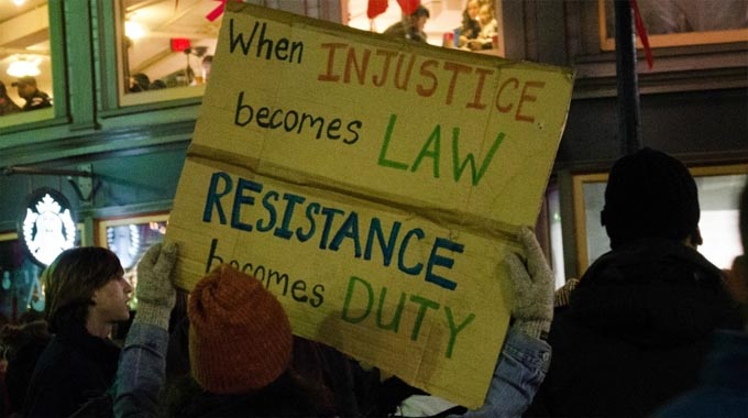 Protesters on Dec. 5 in Boston.  (Photo: Tim Pierce/flickr/cc)