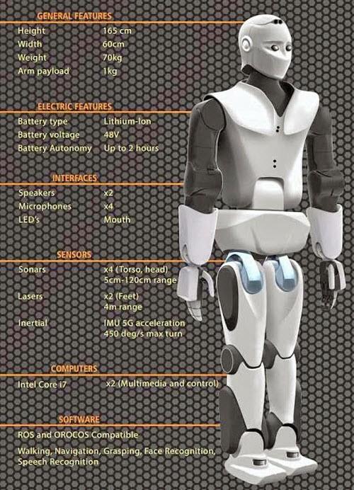 REEM-C-robot-features