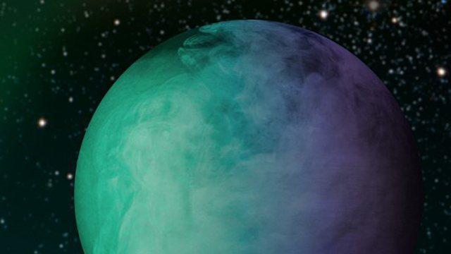 Image of exoplanet Kepler-7b.