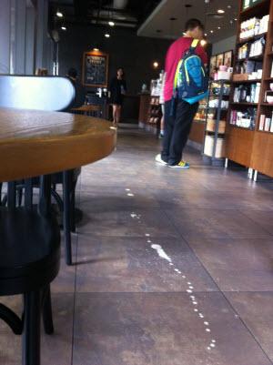 latte-spilled-on-floor-China