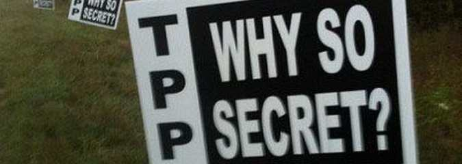 What Law Says the Text Of the TPP Must Remain Secret?