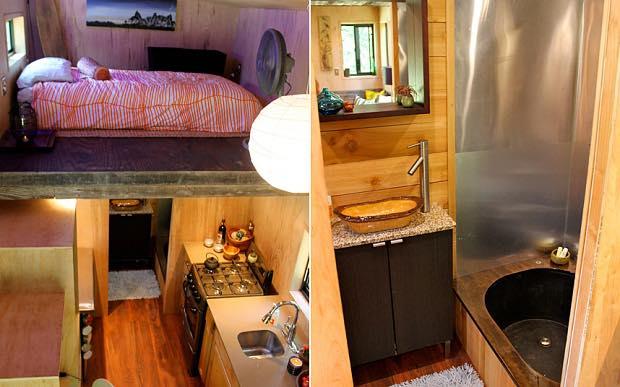 Kitchen, Shower, Loft © Joel Webber