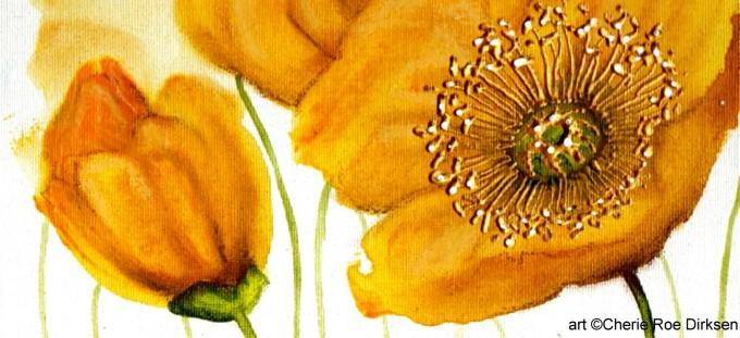 Yellow Poppies by Cherie Roe Dirksen 1