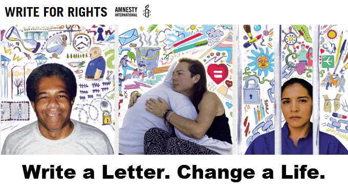 Write a Letter - Change a Life