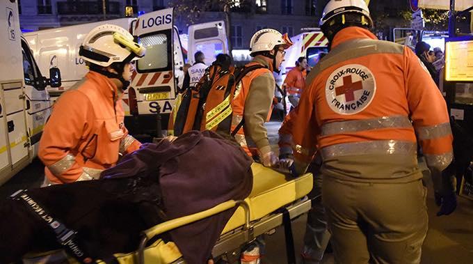 french paramedics terrorist attacks