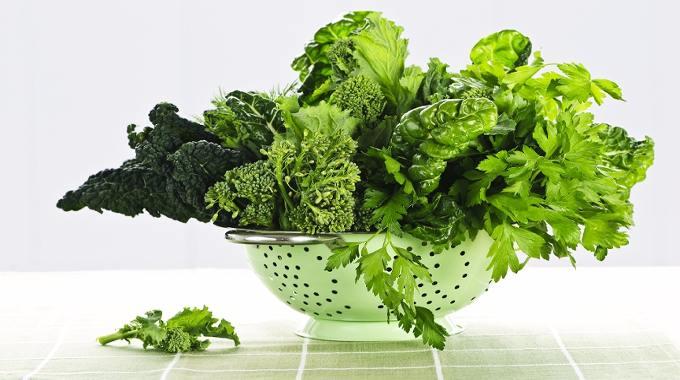 Dark green leafy vegetables-compressed