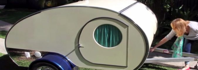 You Won't Believe All of the Awesome Features This Tiny Teardrop Camper Is Hiding