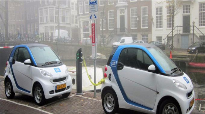 electric vehicles-compressed