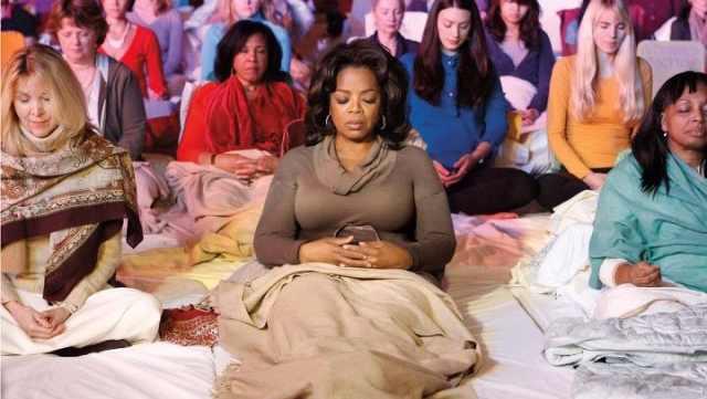 oprah meditates