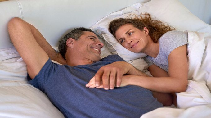 Cheerful mature couple-compressed