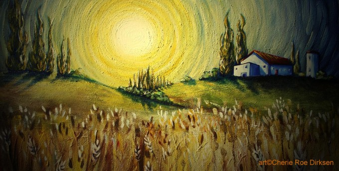 Sunrise Art by Cherie Roe Dirksen