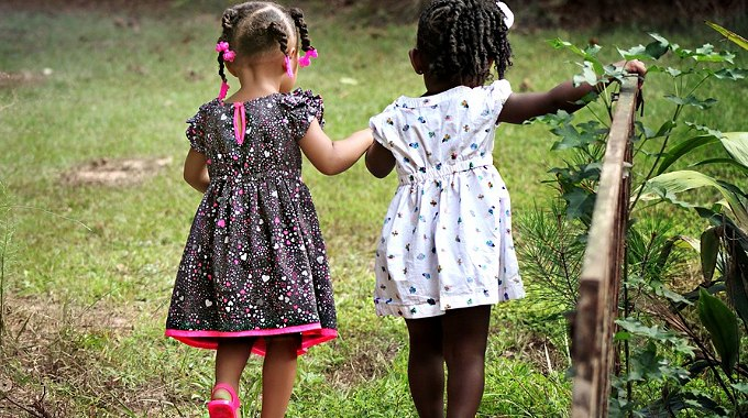 Child Finds Kindred Spirit
