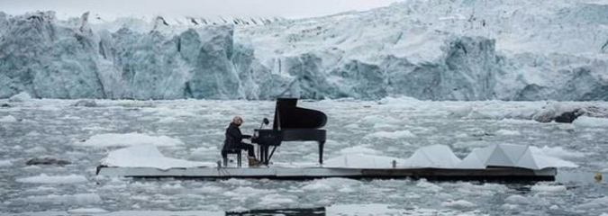 WATCH: Pianist's Poignant Concert On Arctic Ice Calls For Protected Sanctuary