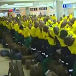 Watch How 300 South African Firefighters Beautifully Bonded Before Joining Canadian Wildfire Team
