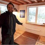 Impressive Tiny House Has Extra Tall Bedroom