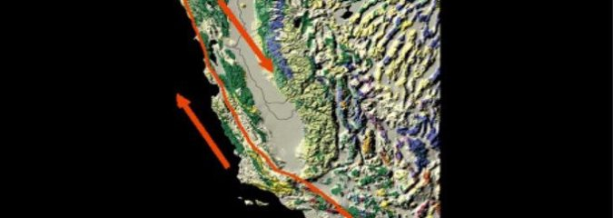 """Southern CA Time Bomb? Ground Surrounding the San Andreas Fault Is Both """"Rising and Sinking"""""""