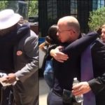 Hundreds Line Up To Hug Police Officers In Dallas, Texas [Watch]
