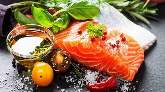 Food Salmon Meal