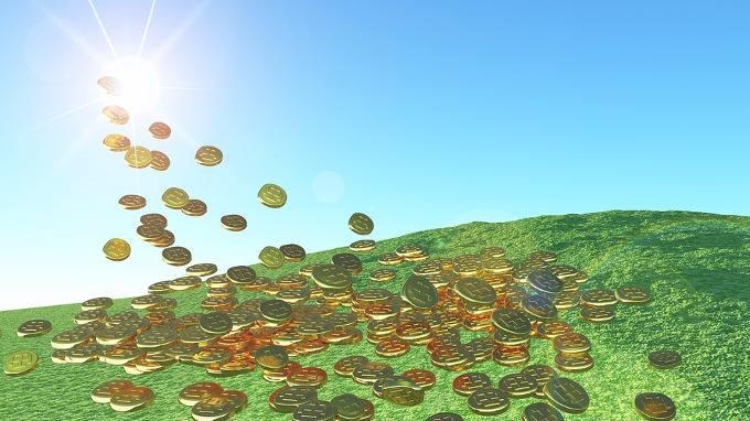 solar energy sunshine gold coins-compressed