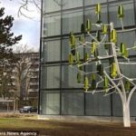Trees Outfitted With Tiny, Vertical Wind Turbines Generate Clean Energy [Watch]