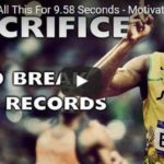 Morning Inspiration: All This For 9.58 Seconds (Motivational Video with Usain Bolt)