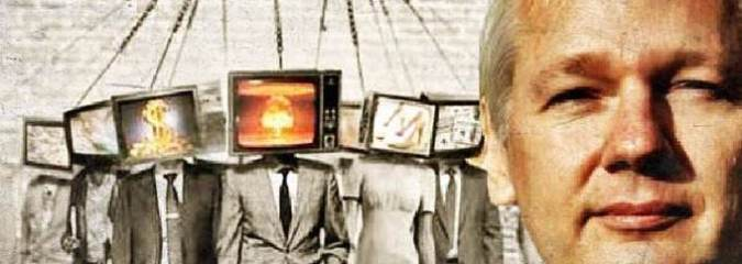 """Assange Exposes The Truth About Corporate Media: """"You Are Reading Weaponized Text"""""""