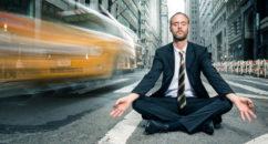 city meditation