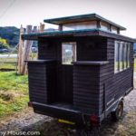 Japan's First (TEENY!) Tiny Home Is Extremely Mobile, Beautiful and Healing