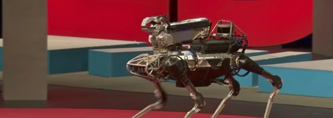Meet Spot, the Robot Dog That Can Run, Hop, Walk Upright and Open Doors