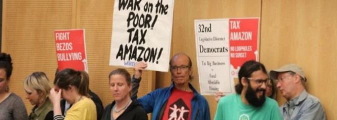 In Major Win Over 'Corporate Bullying,' Seattle Approves Tax on Amazon to Combat Homelessness
