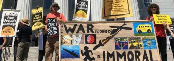 Hundreds Arrested Nationwide as Poor People's Campaign Demands 'End to the War Economy'