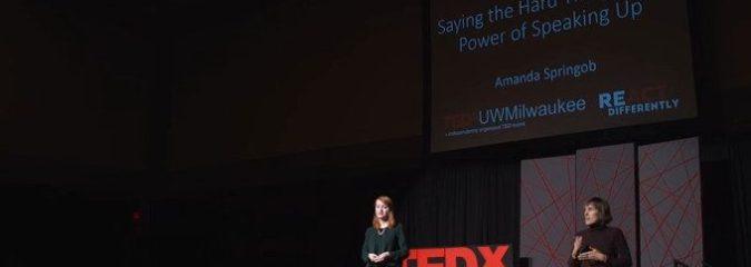 Saying the Hard Things: The Power of Speaking Up | Amanda Springob