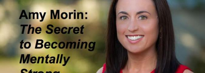 WATCH: The Secret To Becoming Mentally Strong | Amy Morin [TEDx VIDEO]