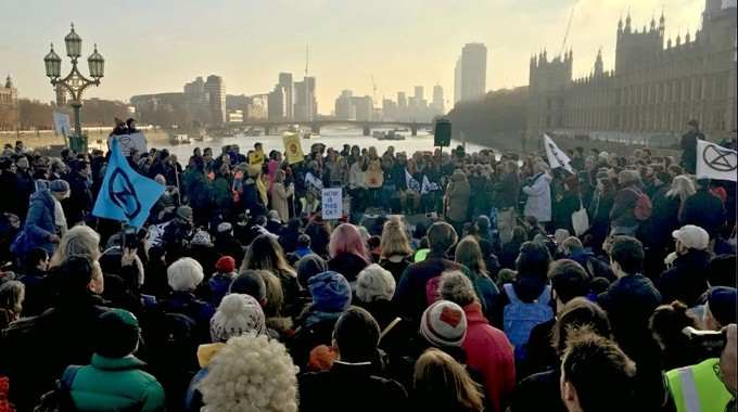 Because 'Good Planets Are Hard to Find,' Extinction Rebellion Shuts Down London Bridges to Save Mother Earth