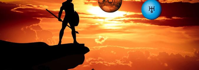 Mars sextile Uranus, be bold, be brave…
