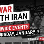 'No War With Iran' Marches Set for Thursday Across US