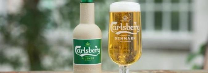 Carlsberg Created A 'World First' Beer Bottle Made From Paper