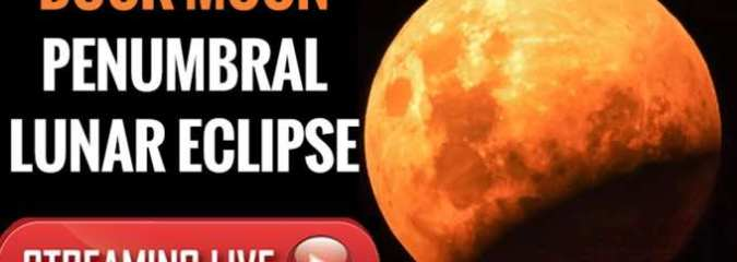 How To Watch The 'Buck Moon' Lunar Penumbral Eclipse Tonight