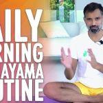 Daily Morning Pranayama Routine (Yoga Breathing Technique) Guided Exercise – SOMA Breath