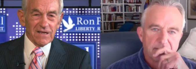 Dr. Ron Paul Interviews Robert F. Kennedy, Jr. Who Admits the CIA Killed his Father and Uncle