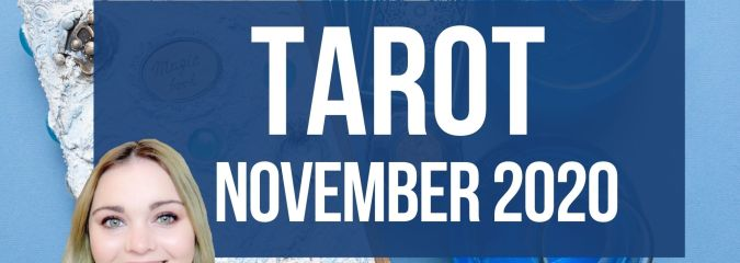 Monthly Tarot Card Readings November 2020