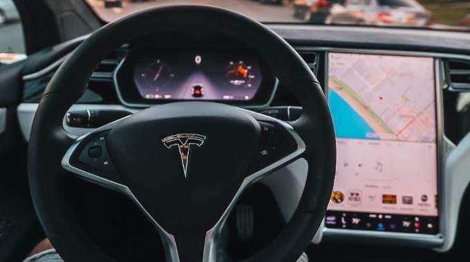 Tesla motors self-driving cars