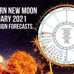 Capricorn New Moon January 13th 2021 + Zodiac Sign Forecasts