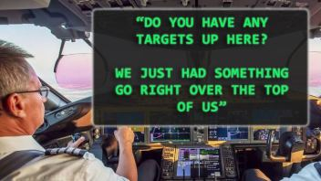 FBI 'Aware Of' Alleged Spotting of UFO by American Airlines Pilot Over New Mexico