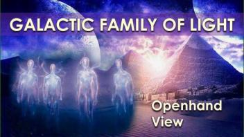 Galactic Family of Light: Vision of Future Landing Now