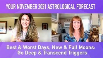 November 2021 Astrology Forecast – Best & Worst Days, Moon Info & More