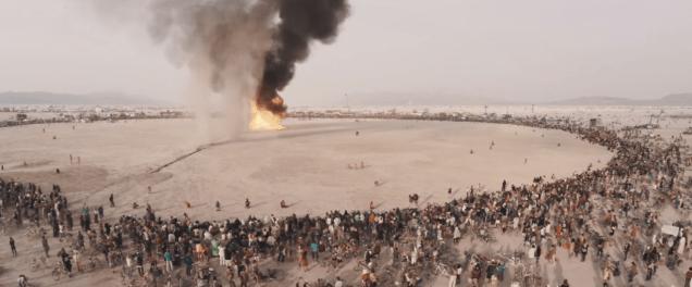 Burning Man Festival 2014